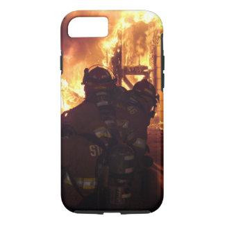 Feuerbekämpfendes Struktur-Feuer iPhone 7 Hülle