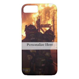 Feuerbekämpfendes Struktur-Feuer iPhone 8/7 Hülle