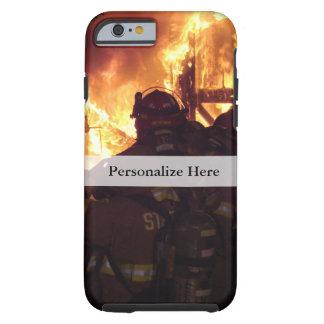 Feuerbekämpfendes Struktur-Feuer Tough iPhone 6 Hülle