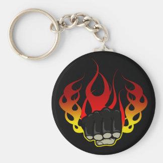 Feuerfaust Schlüsselanhänger