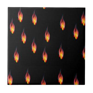 Feuerflammen Keramikfliese