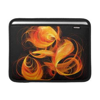 Feuerkugel-abstrakte Kunst Macbook Luft MacBook Air Sleeve