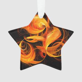 Feuerkugel-abstrakter Kunst-Acryl-Stern Ornament