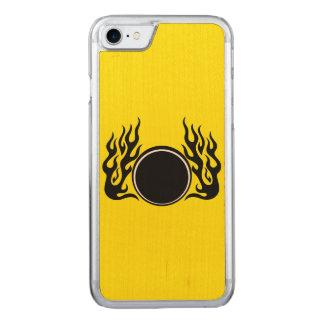 Feuerkugel Carved iPhone 8/7 Hülle