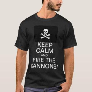 Feuern Sie die Kanonen ab! T-Shirt