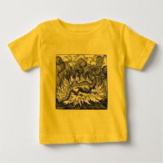 Feuersalamander-Säuglings-Shirt Baby T-shirt