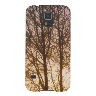 Feuersbrunst im Holz Samsung Galaxy S5 Hülle