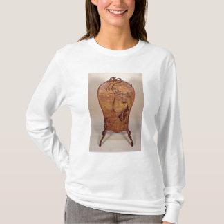 Feuerschirm mit Marketerie des verschiedenen T-Shirt