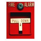 Feuersignal Postkarte