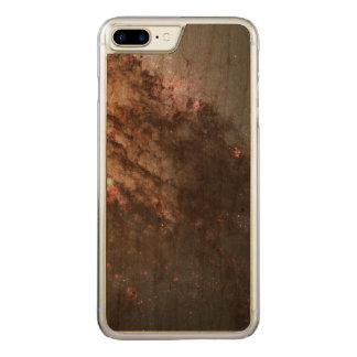 Feuersturm der Stern-Geburt in der Galaxie Carved iPhone 8 Plus/7 Plus Hülle