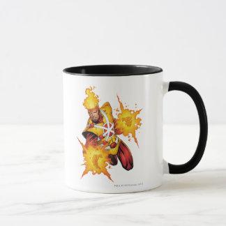 Feuersturm-Durchschlag Tasse