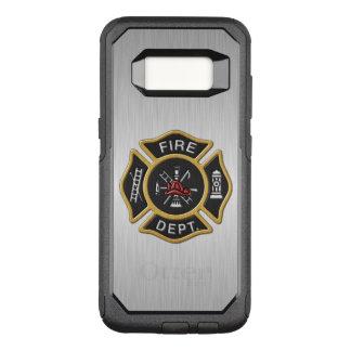 Feuerwehr-Abzeichen Deluxe OtterBox Commuter Samsung Galaxy S8 Hülle
