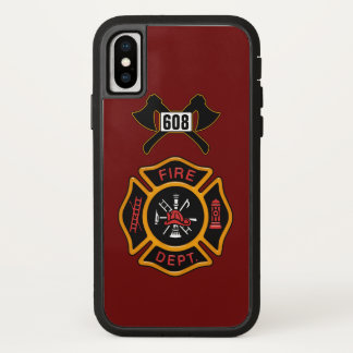 Feuerwehr-Abzeichen iPhone X Hülle