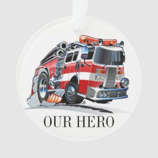 Feuerwehr-Feuerwehrmann-Verzierung Ornament
