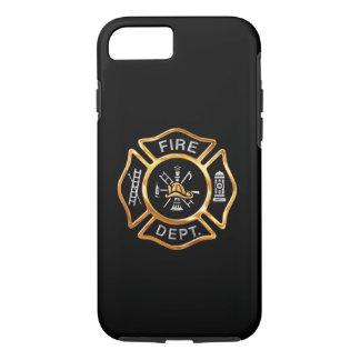 Feuerwehr-GoldAbzeichen iPhone 8/7 Hülle