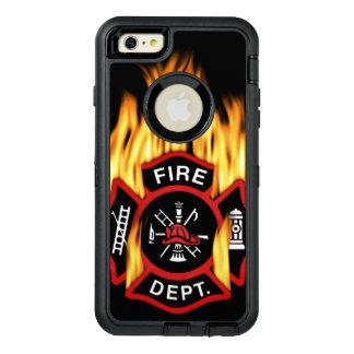 Feuerwehr-loderndes Abzeichen OtterBox iPhone 6/6s Plus Hülle