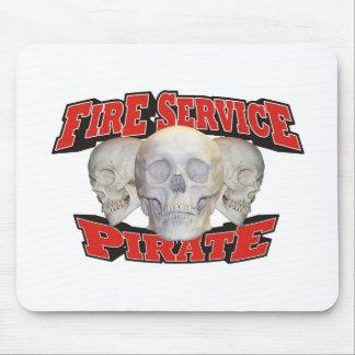 Feuerwehr-Pirat Mousepad