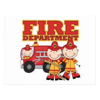 Feuerwehr-T-Shirts und Geschenke Postkarte