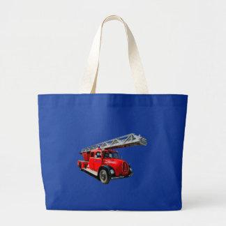 Feuerwehrauto Jumbo Stoffbeutel