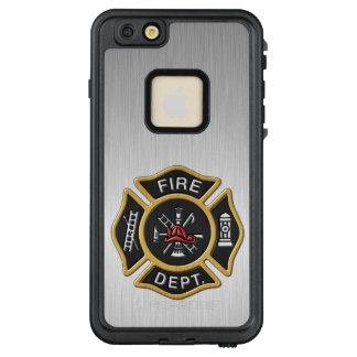 Feuerwehrmann-Abzeichen Deluxe LifeProof FRÄ' iPhone 6/6s Plus Hülle