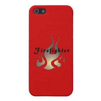 Feuerwehrmann-Abziehbild iPhone 5 Case