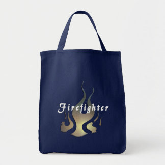 Feuerwehrmann-Abziehbild Tragetasche