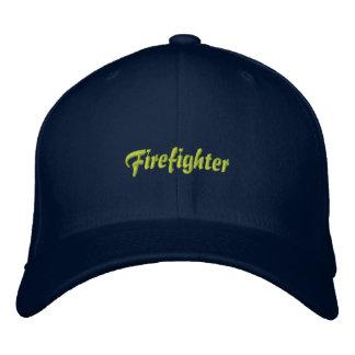 Feuerwehrmann-Asst. Leiter gestickter Hut Bestickte Caps