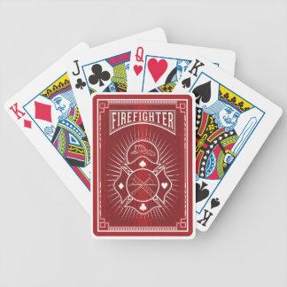 Feuerwehrmann Bicycle® Poker-Spielkarten Bicycle Spielkarten