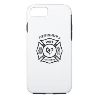 Feuerwehrmann-Ehefrau-Herz iPhone 7 Hülle