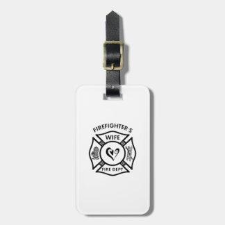Feuerwehrmann-Ehefrau Kofferanhänger