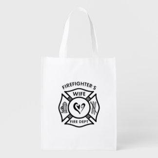 Feuerwehrmann-Ehefrau Tragetasche