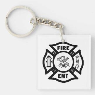 Feuerwehrmann EMT Schlüsselanhänger