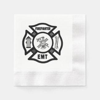 Feuerwehrmann EMT Serviette