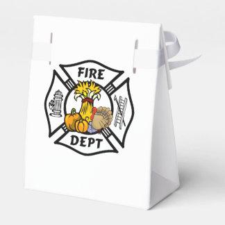 Feuerwehrmann-Erntedank Geschenkschachtel