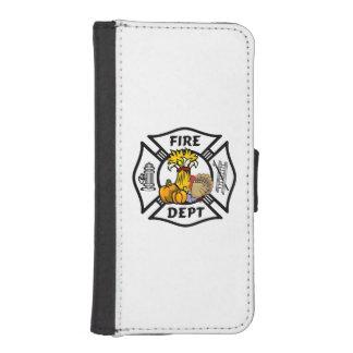 Feuerwehrmann-Erntedank iPhone SE/5/5s Geldbeutel