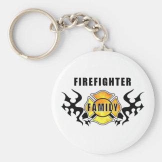 Feuerwehrmann-Familie Schlüsselanhänger