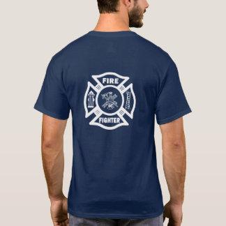 Feuerwehrmann-Feuer-Abteilung maltesisch T-Shirt