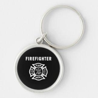 Feuerwehrmann-Feuer-Abteilung Schlüsselanhänger