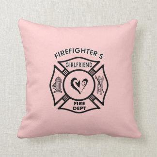 Feuerwehrmann-Freundinnen Kissen