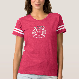Feuerwehrmann-Freundinnen T-shirt