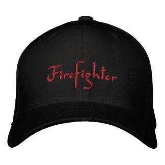 Feuerwehrmann gestickter Hut Baseballcap