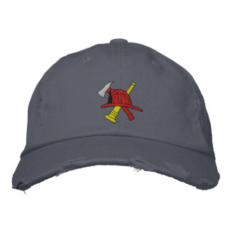 Feuerwehrmann gestickter Hut Bestickte Baseballmützen