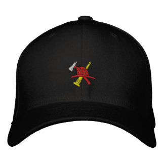 Feuerwehrmann gestickter Hut Bestickte Mützen