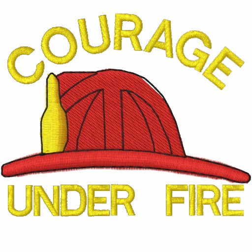 Feuerwehrmann gesticktes Shirt Polo Hemd