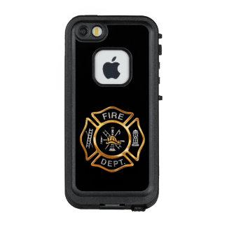 Feuerwehrmann-GoldAbzeichen LifeProof FRÄ' iPhone SE/5/5s Hülle