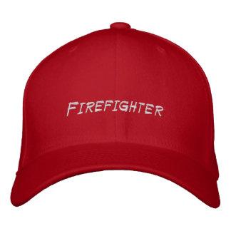 Feuerwehrmann-Haupthut gestickt Bestickte Baseballmütze