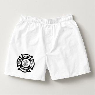 Feuerwehrmann Herren-Boxershorts
