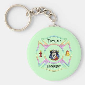 Feuerwehrmann-Kinder Schlüsselanhänger