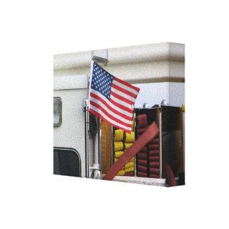Feuerwehrmann-Kunst-Plakate Leinwanddruck