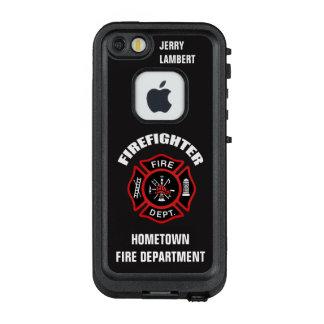 Feuerwehrmann-Namensschablone LifeProof FRÄ' iPhone SE/5/5s Hülle